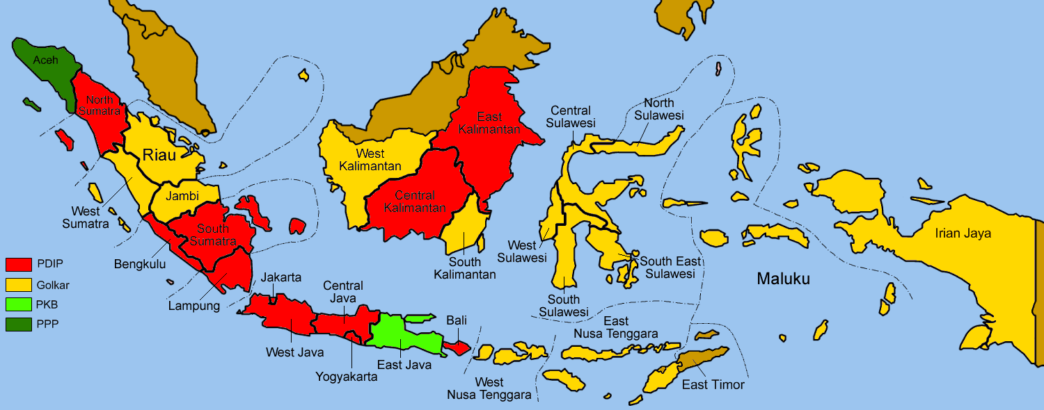 Indonesia Election Maps