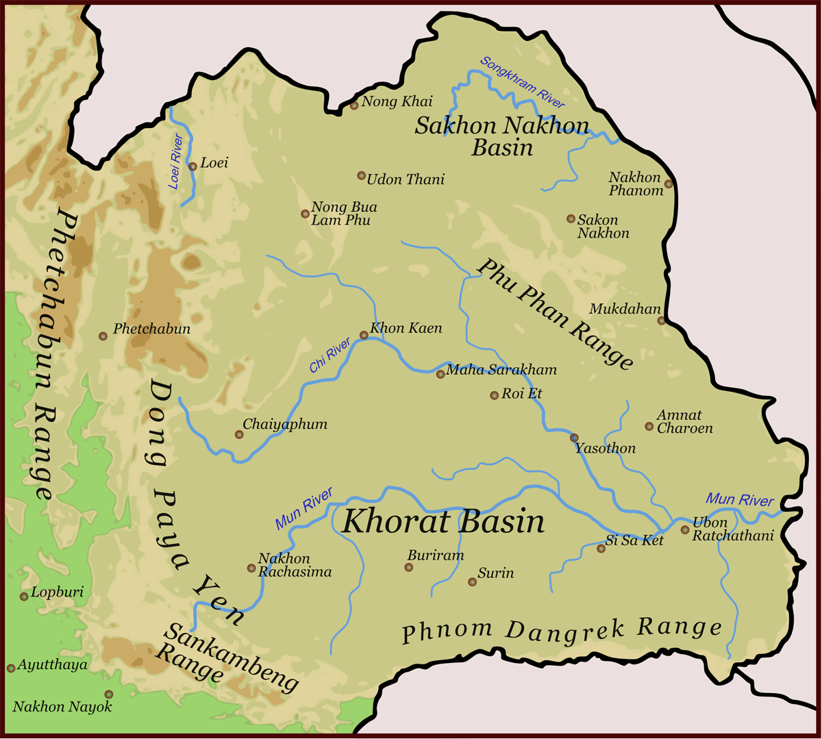 Isaanmountains large map