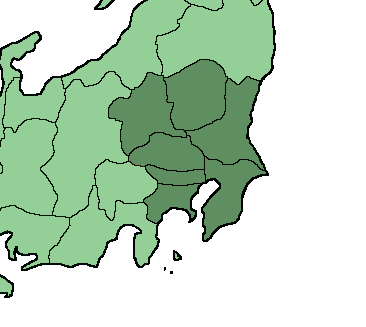 Japan Kanto Region Mapsofnet - Japan map by region