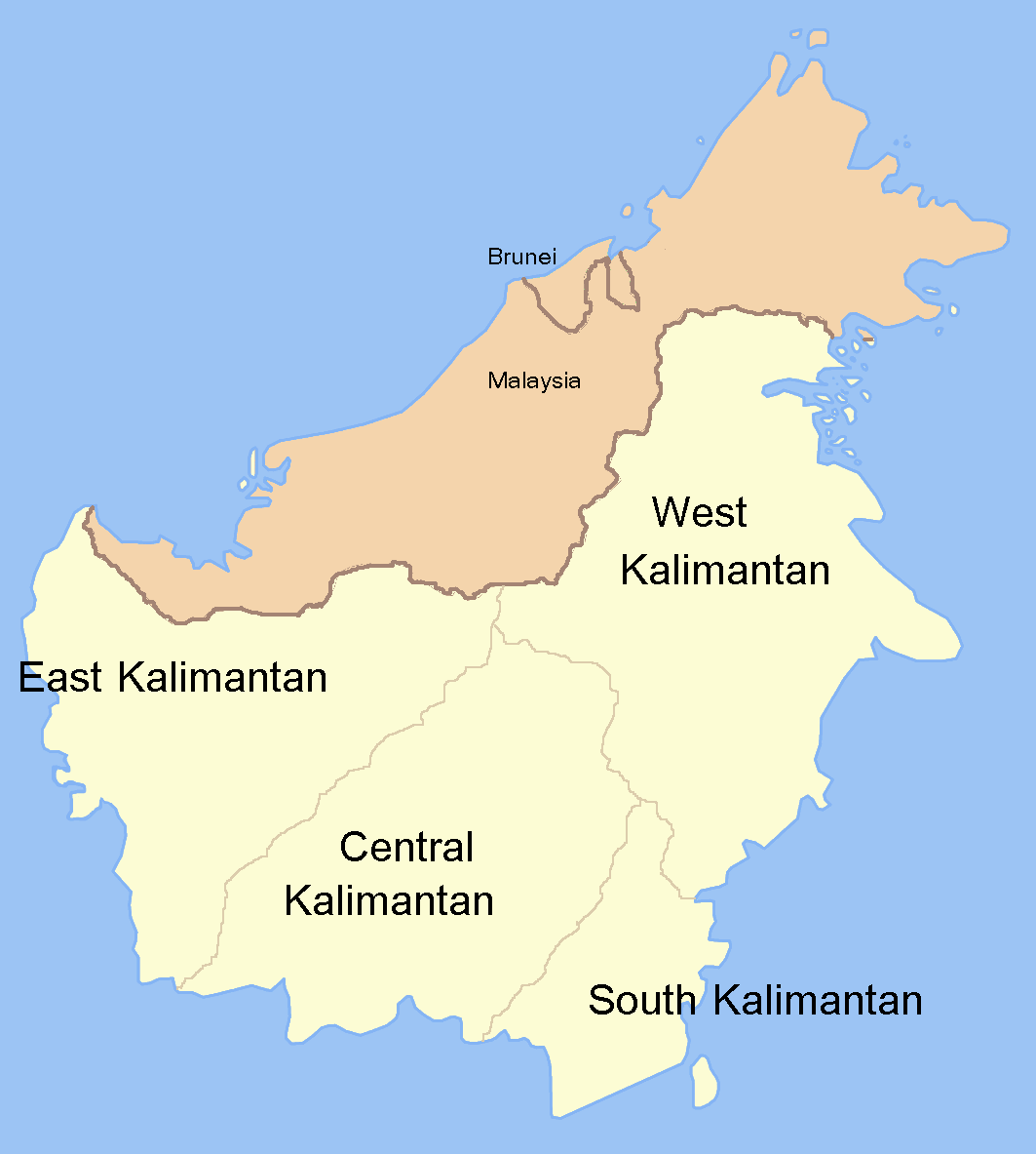 Kalimantan �... Reverse Google Maps