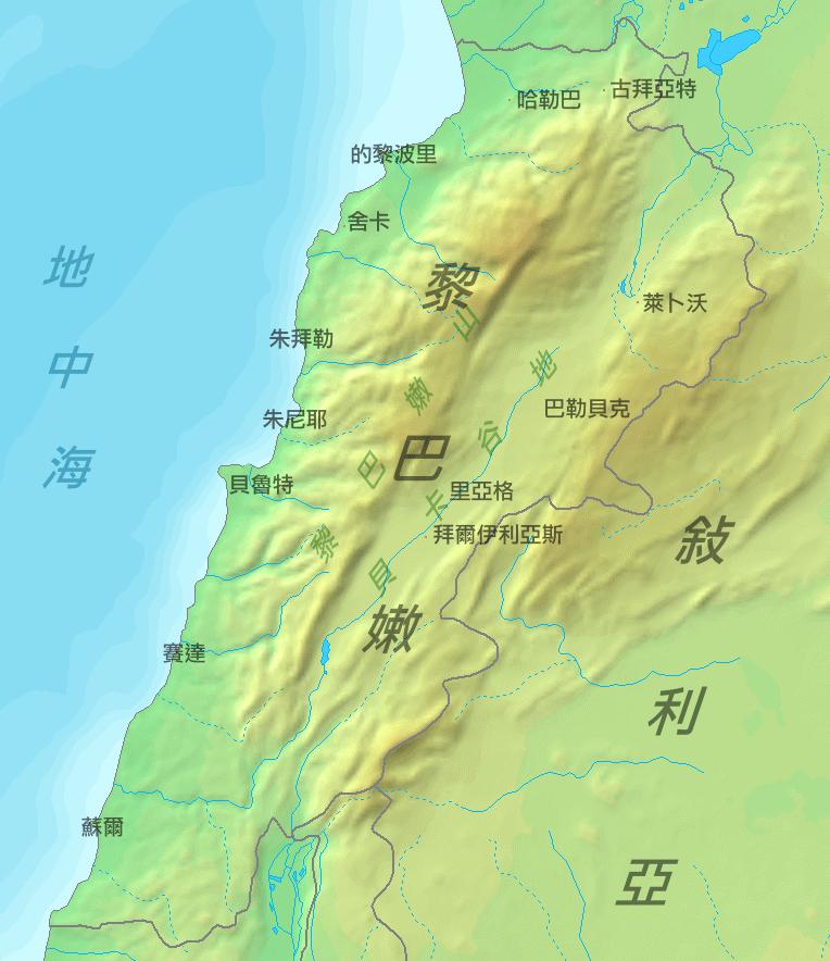 Libanen Ditu1 large map