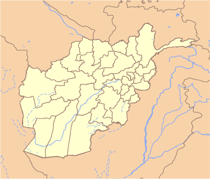 Location Map Afghanistan large map