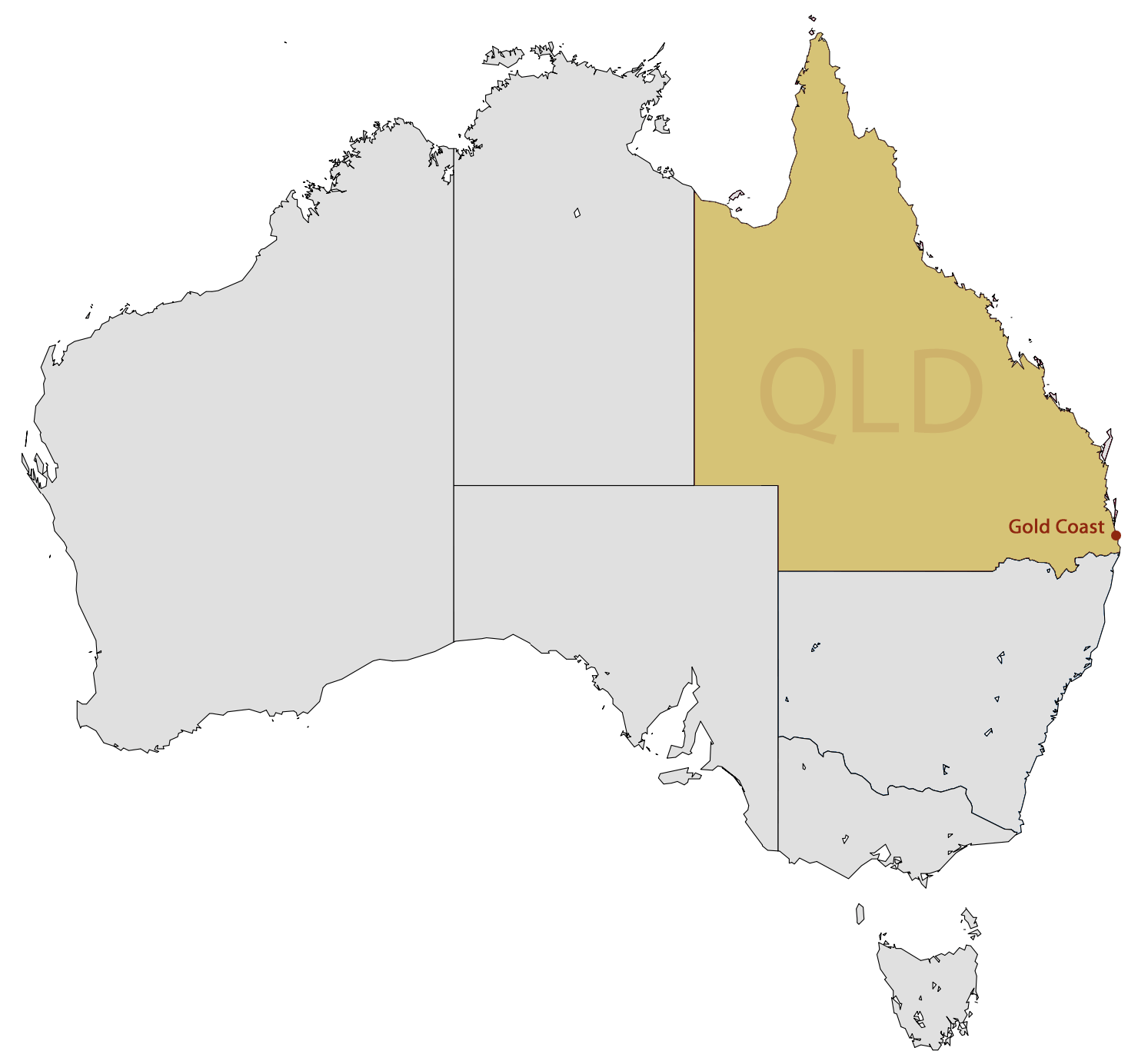 where is the gold coast located