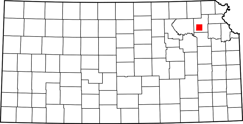 Location of Prairie Band of Potawatomi large map