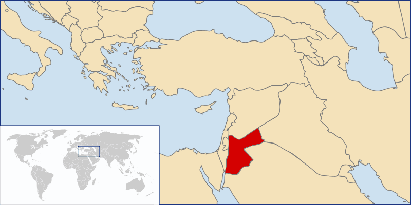 Locationjordan large map