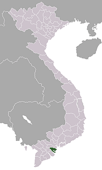 Locationvietnamgo Cong large map