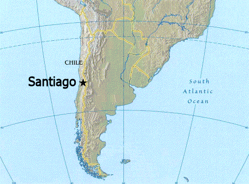Santiago Map | Maps Santiago Map