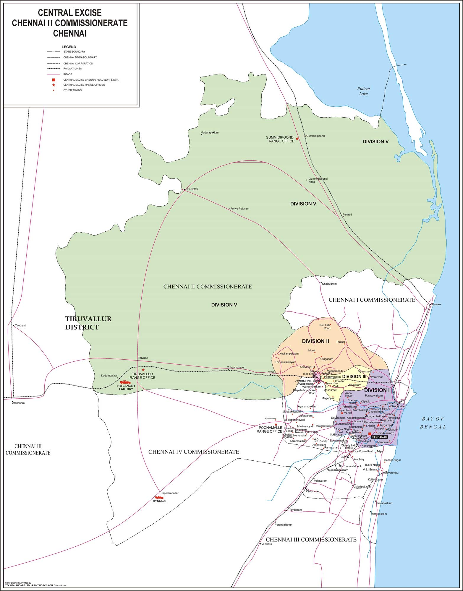 Map Chennai