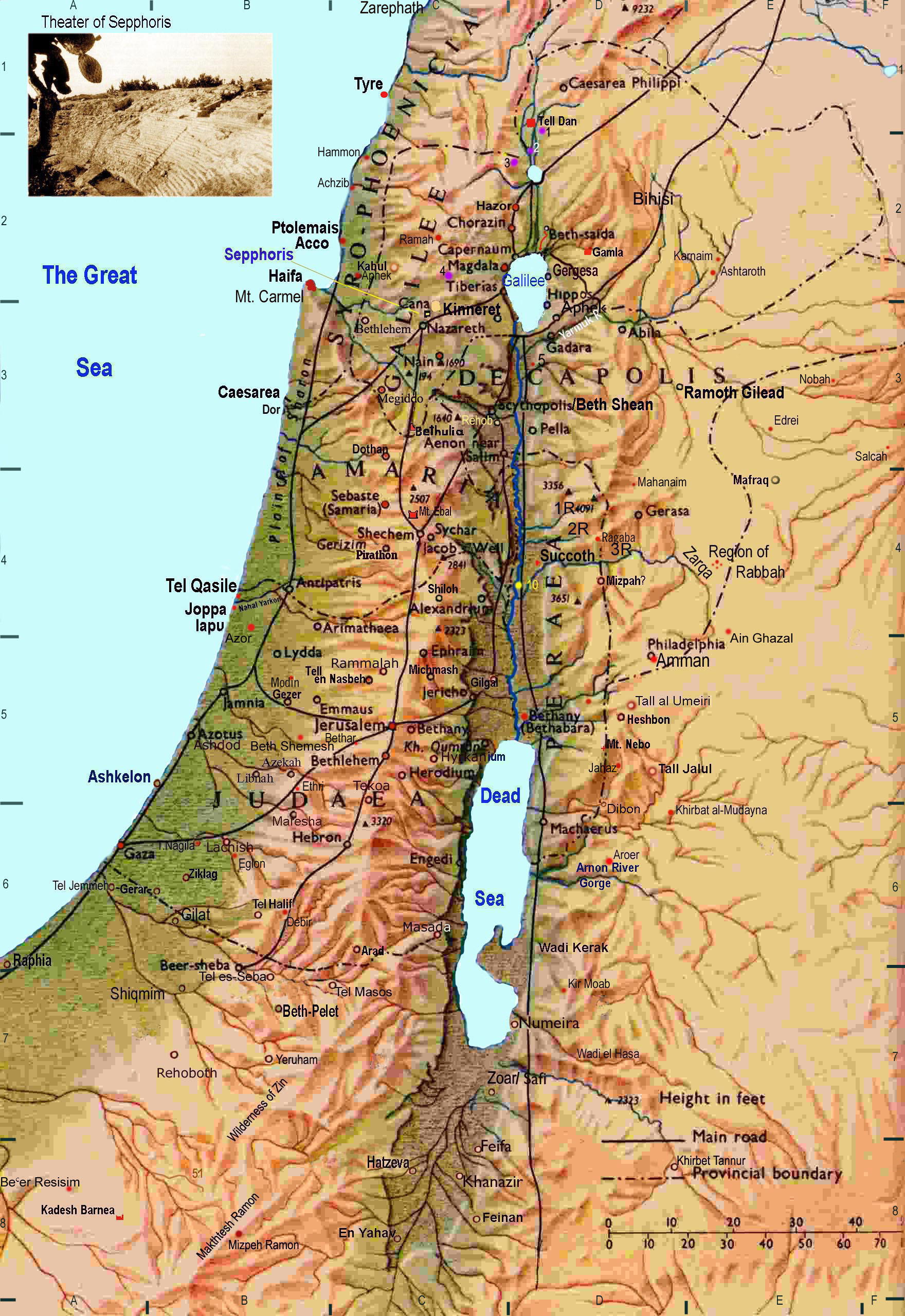Topographical Map Of Israel Drop A Pin Google Maps
