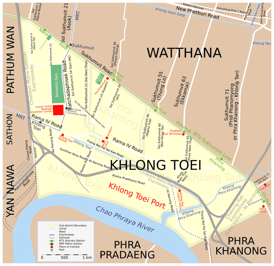Map Khlong Toei Src Eng