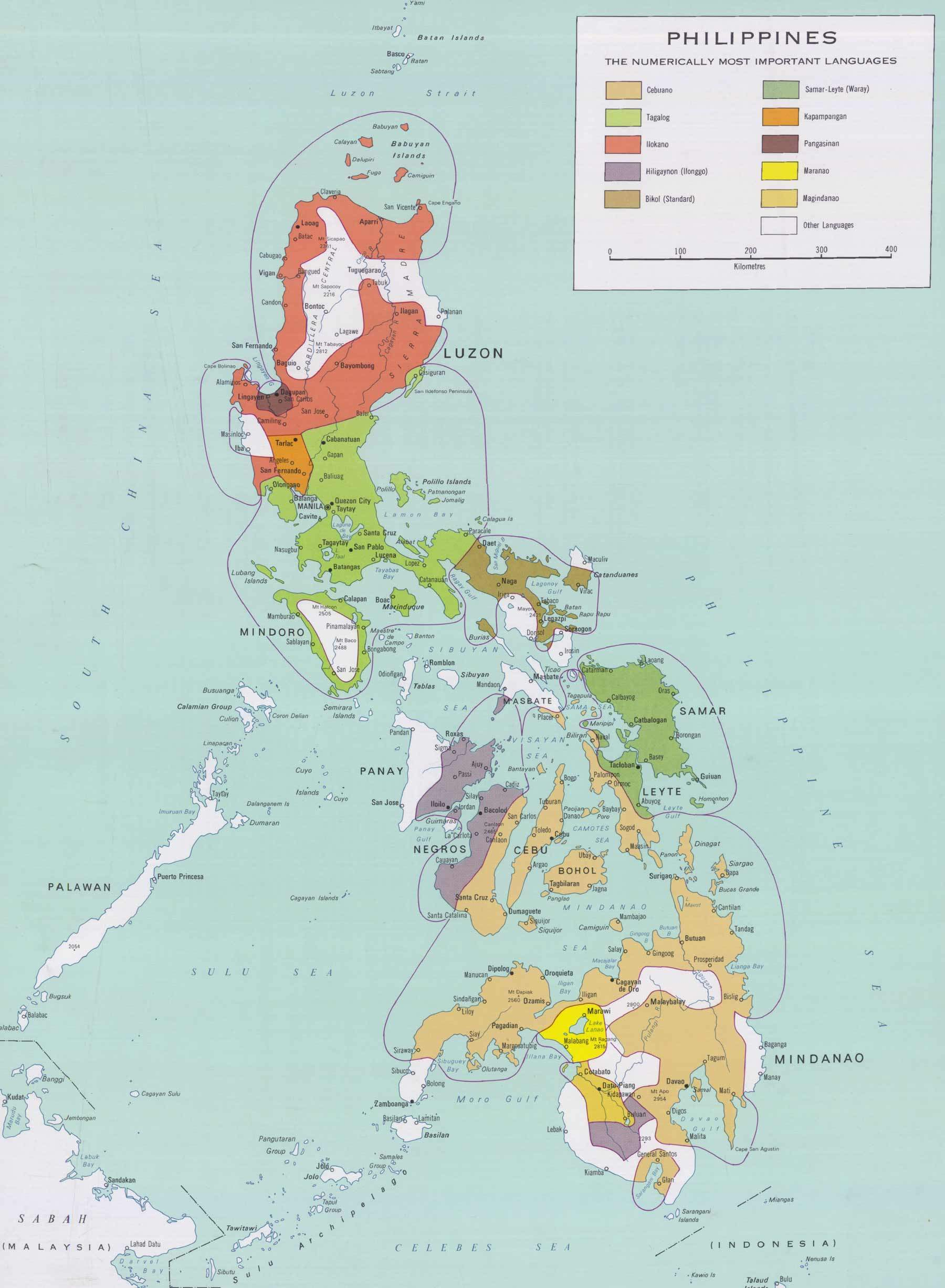 Map Of Philippines Mapsofnet - Where is philippines
