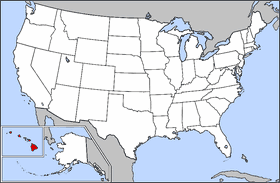 map of usa highlighting hawaii mapsofnet