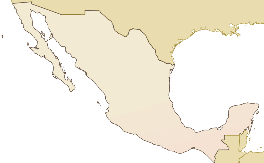 Mexico Map Outline Related Keywords Suggestions Mexico Map – Plain Map of Mexico