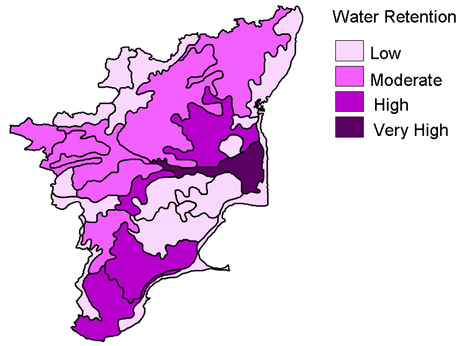 Mudslide Map of Tamil Nadu