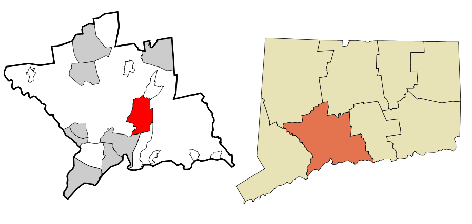 New Haven County Connecticut Incorporated And Unincorporated Areas