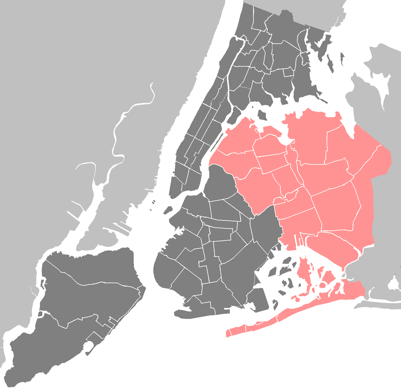 New York City Queens • Mapsof.net