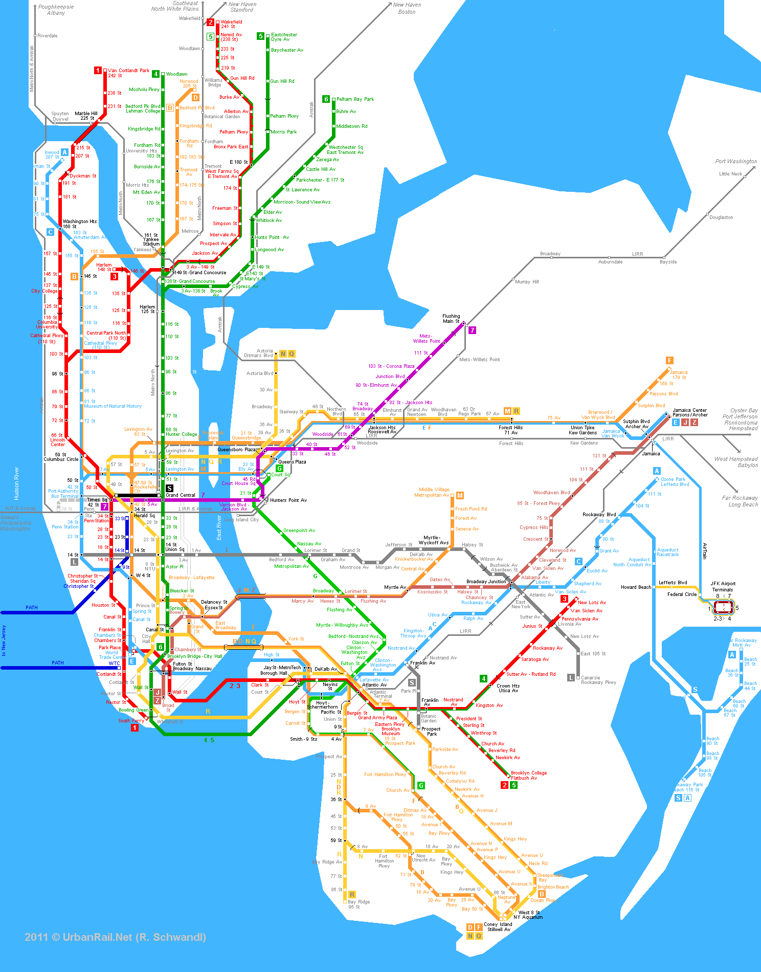 Large Ny Subway Map.New York City Metro Map Mapsof Net