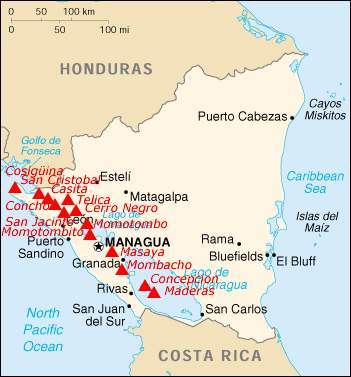 Nicaragua Map Vulcani • Mapsof.net on geography of bluefields nicaragua, landforms and cities of nicaragua, city street map downtown managua nicaragua, cultural regions of nicaragua, fishing towns in nicaragua, north country of nicaragua, hotels bluefields nicaragua, people of bluefields nicaragua, map major cities in nicaragua, geographical location of nicaragua, important cities of nicaragua, map of bluefields central america,