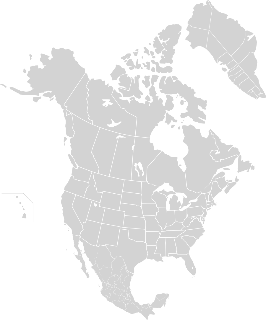 Click On The North America Second Level Political Division 2 And Greenland 1