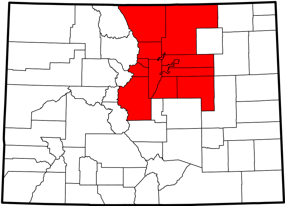 North Central Colorado Urban Area