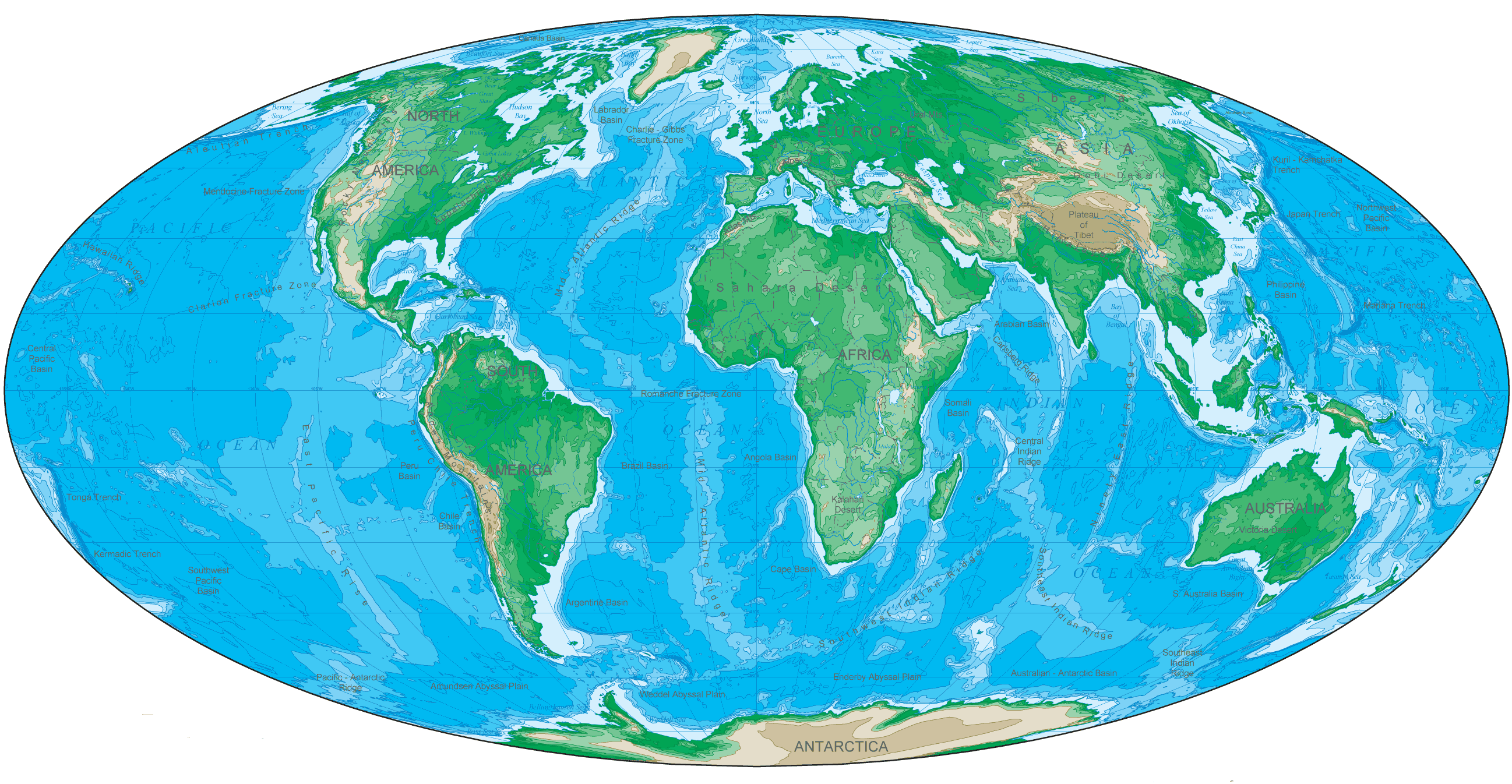 Oval shaped world map mapsof oval shaped world map the world maps gumiabroncs Images