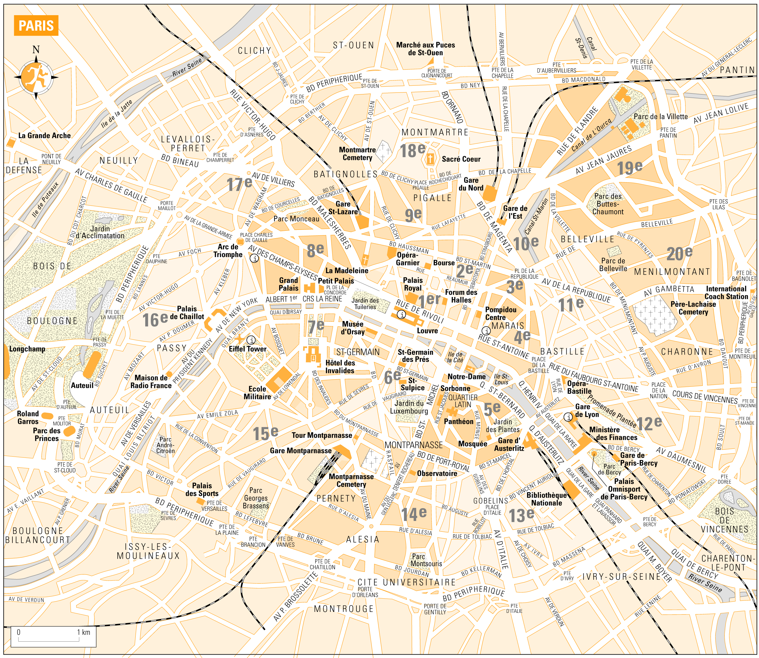 Paris Tourist Bus Map Mapsofnet – Paris Tourist Map English