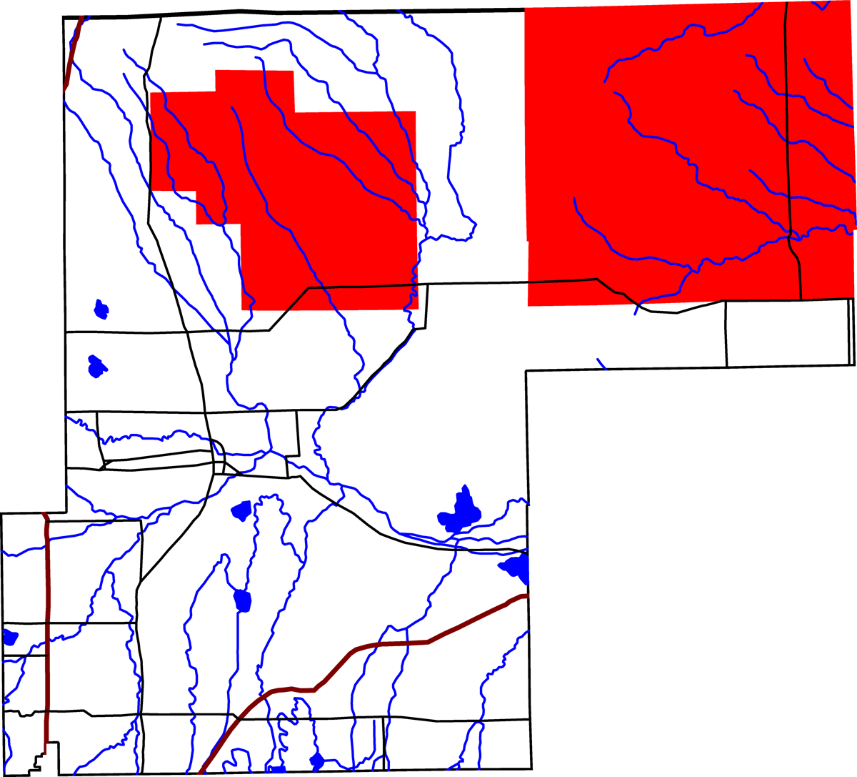 Pawnee National Grassland Location In Weld County