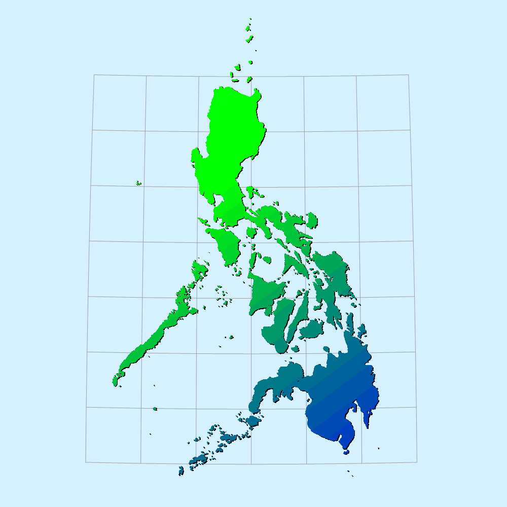 Philippines Large large map