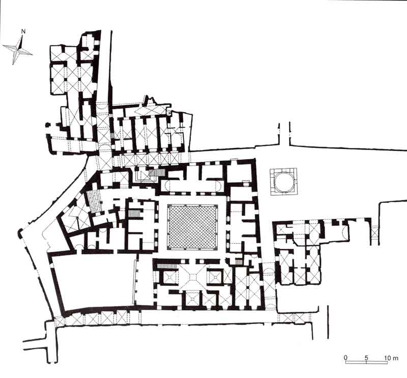 Plan Dar Hussein large map