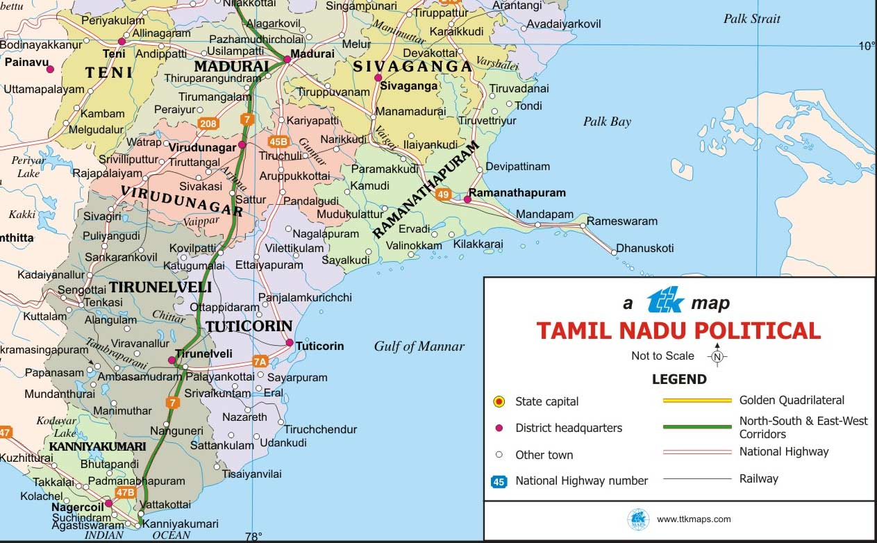 TAMIL NADU ROAD MAP WITH DISTANCE EBOOK DOWNLOAD
