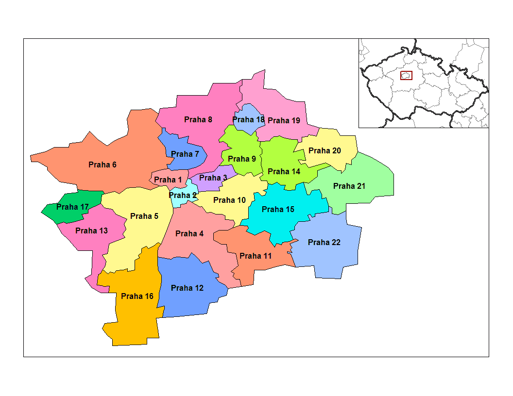 Prague Administrative Districts