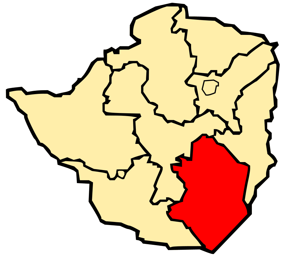 Province of Masvingo large map
