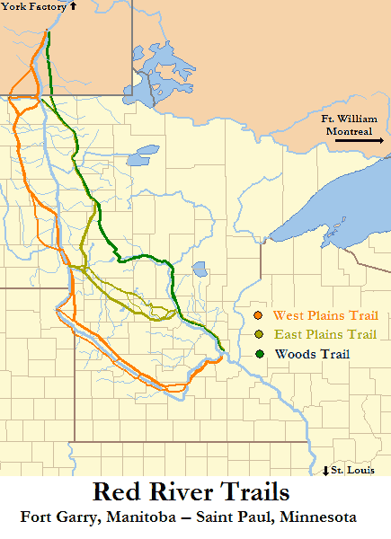 Red River Trails Locator Map Mapsofnet - Minnesota rivers map