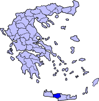 Rethymnoprefecture large map