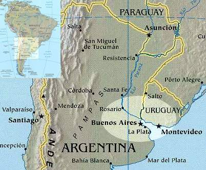 map of argentina with cities. Argentina maps.