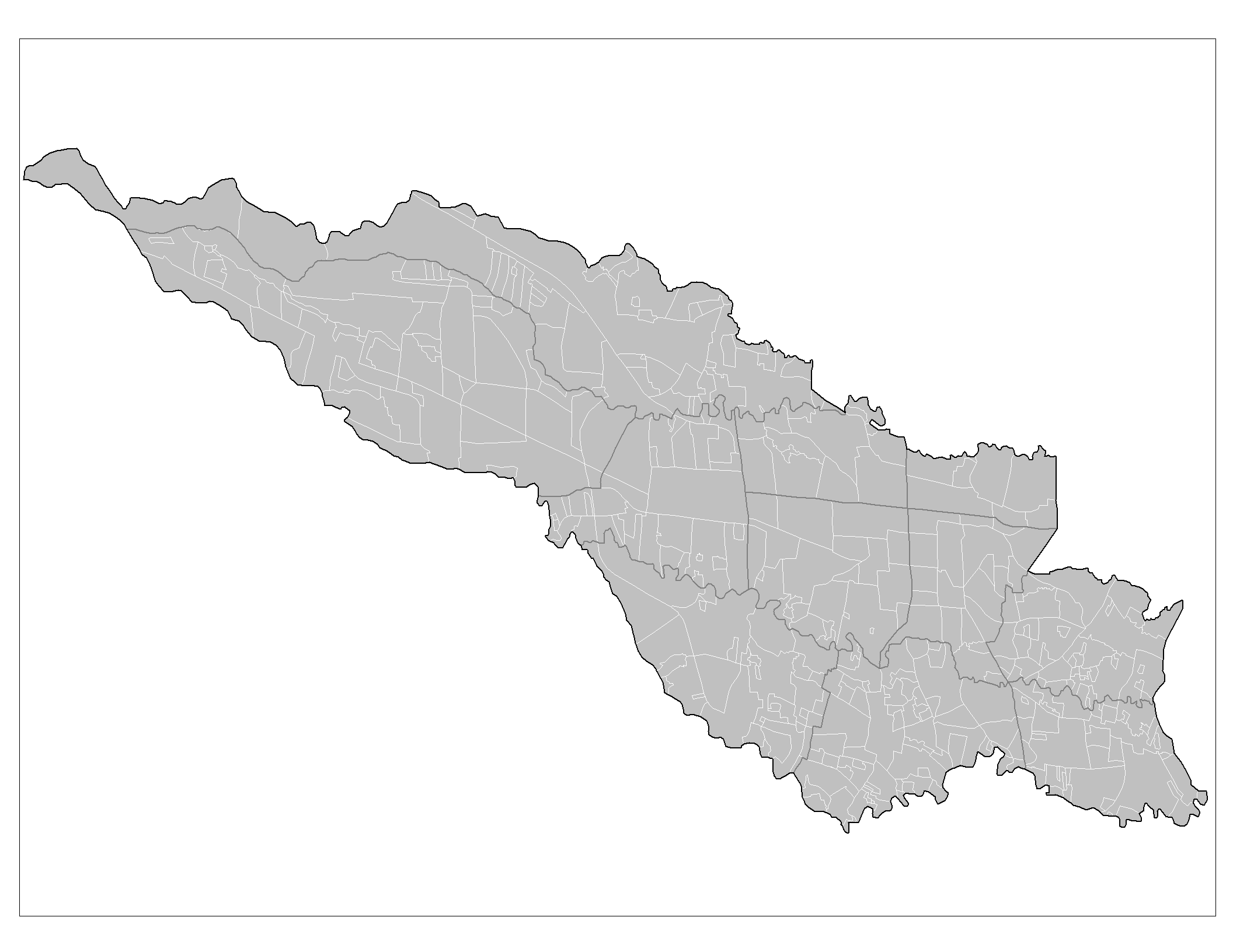 San Jose Barrios large map