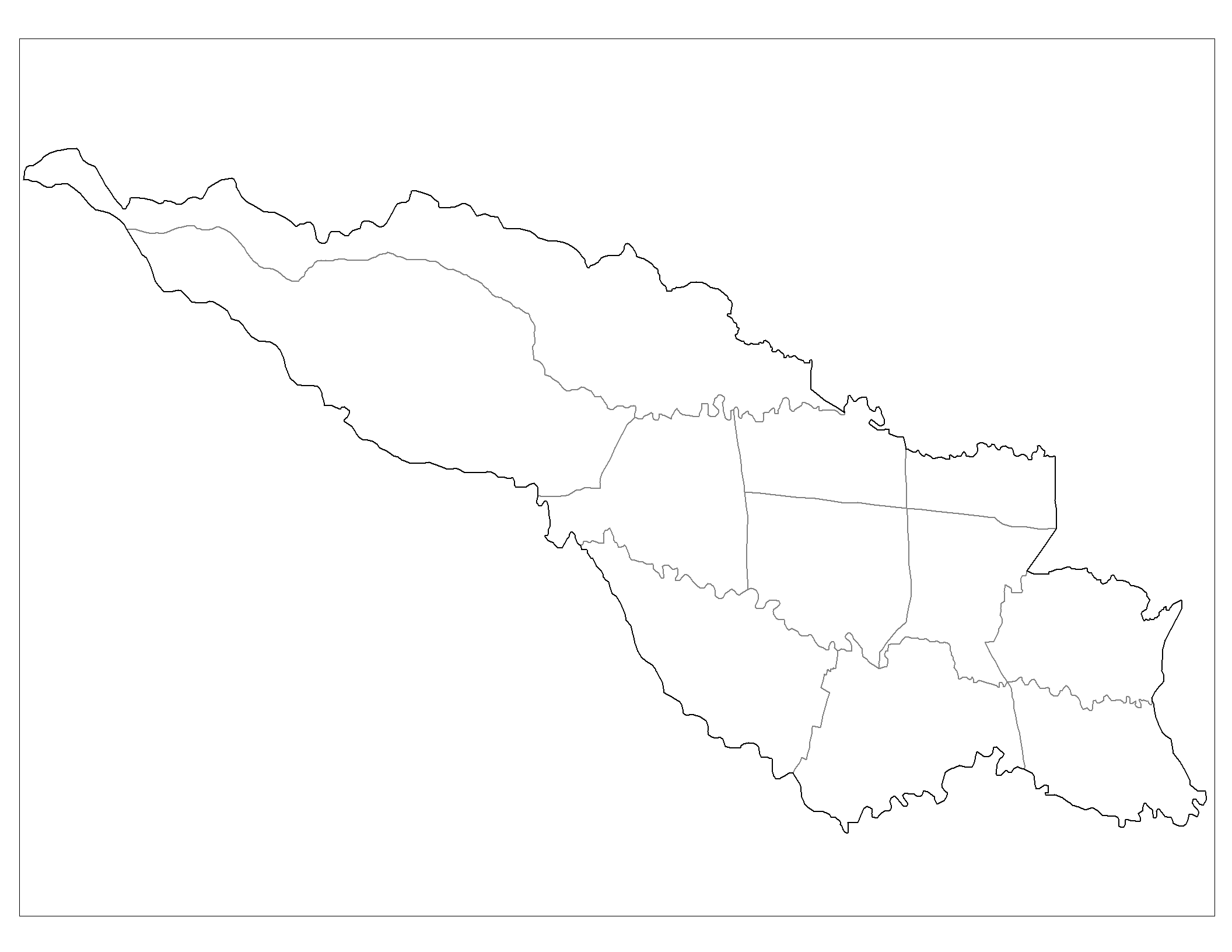 San Jose Districts large map