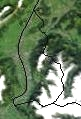 Satellite Image of Liechtenstein In September 2002 large map