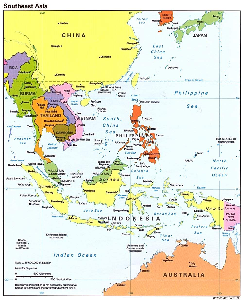 Se Asia Pol 95 large map