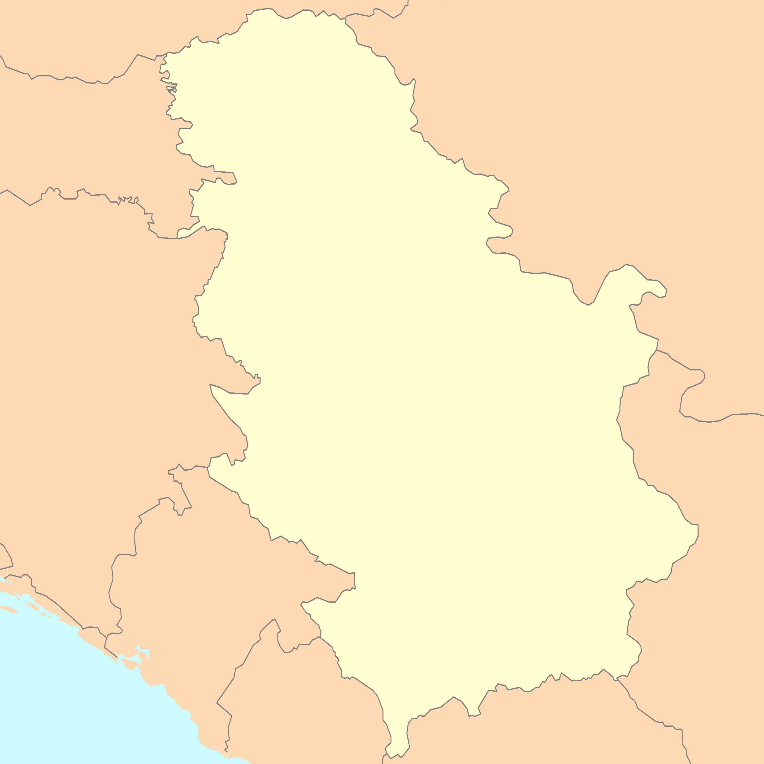 Where Is Serbia Serbia Maps Mapsofnet - Map of serbia