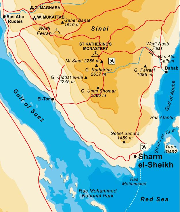 Sharm El Sheikh • Mapsof.net