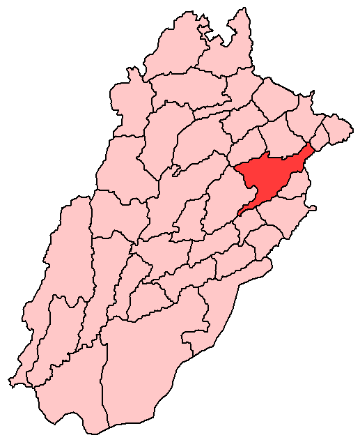 Sheikhupura District 2005 large map