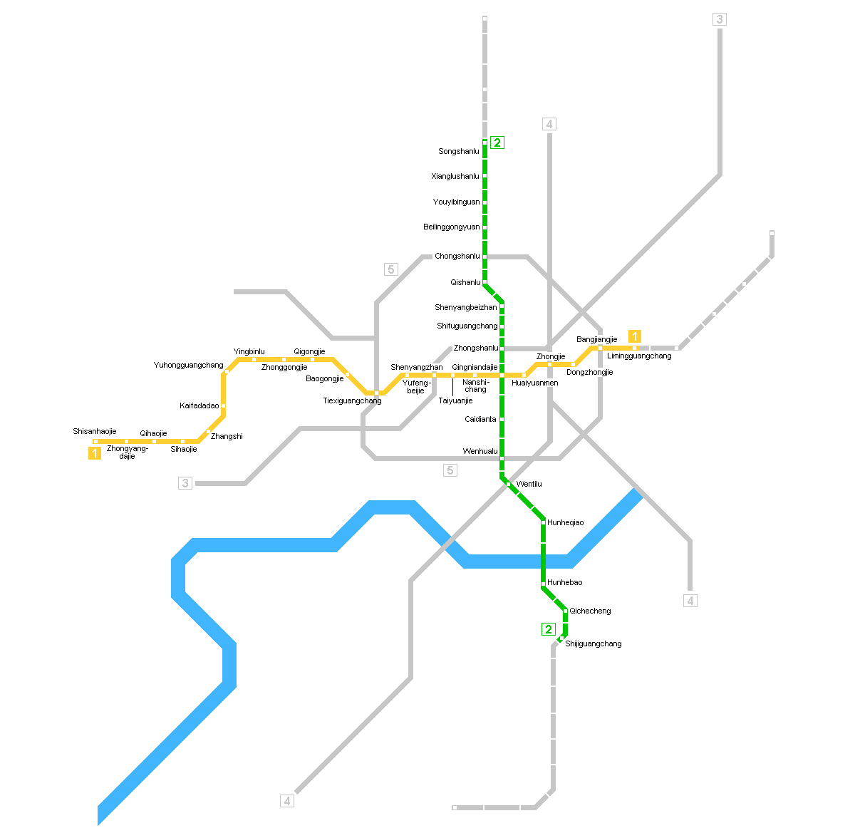 Earth Physical Map Shenyang Metro Map lar...