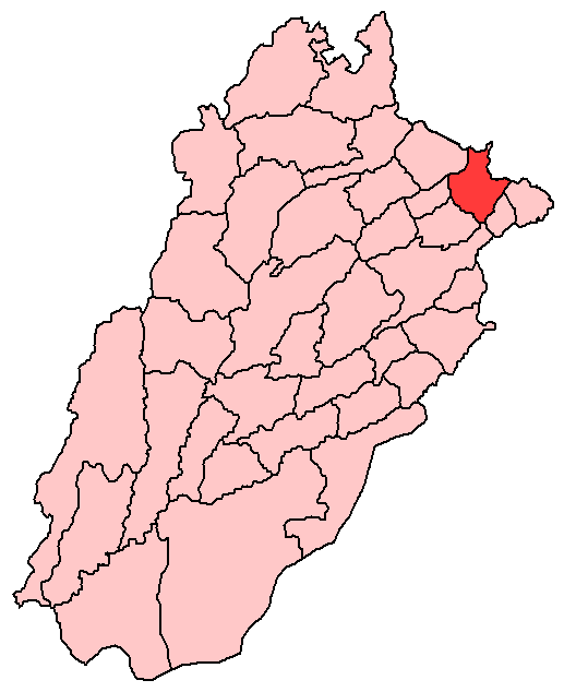 Sialkot District large map