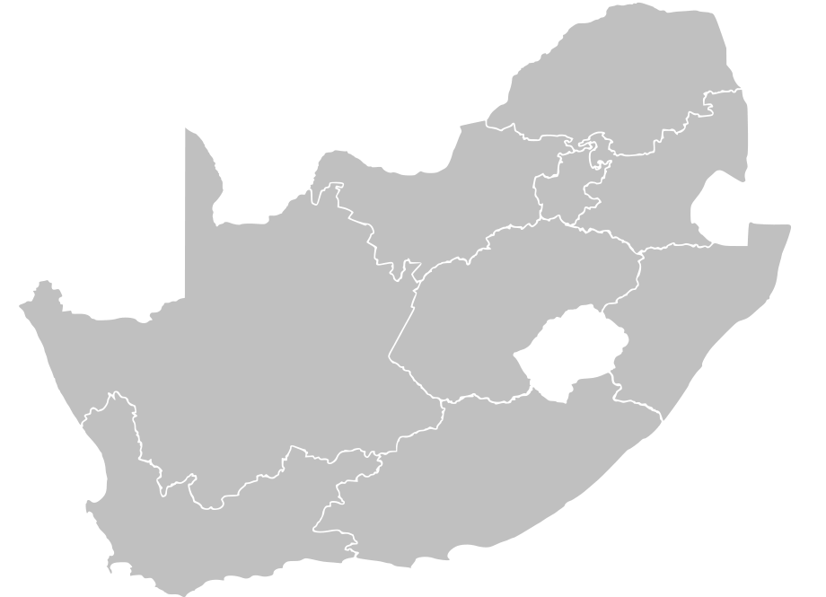 plain south africa map