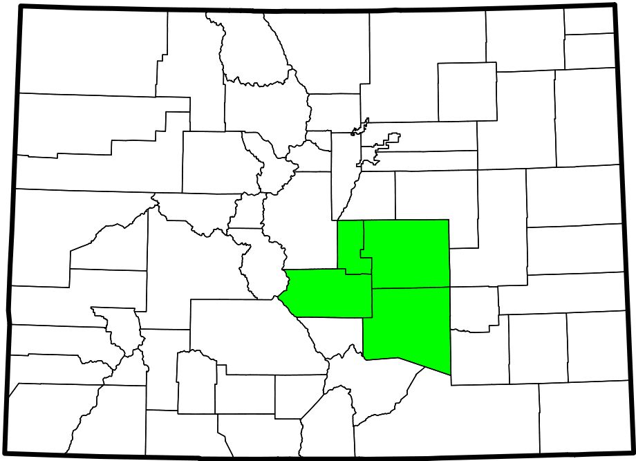 South Central Colorado Urban Area