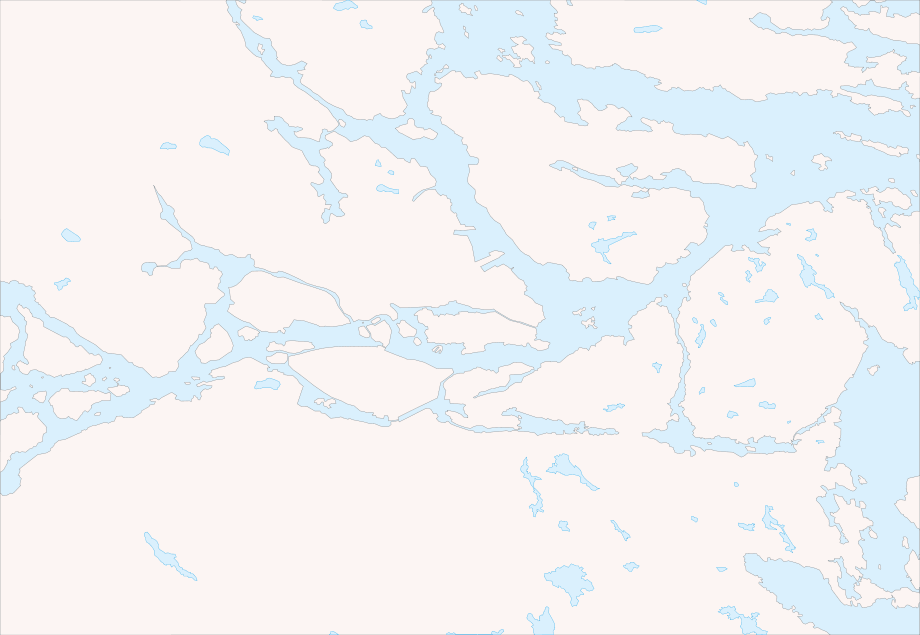 Stockholm Area Blank Map large map