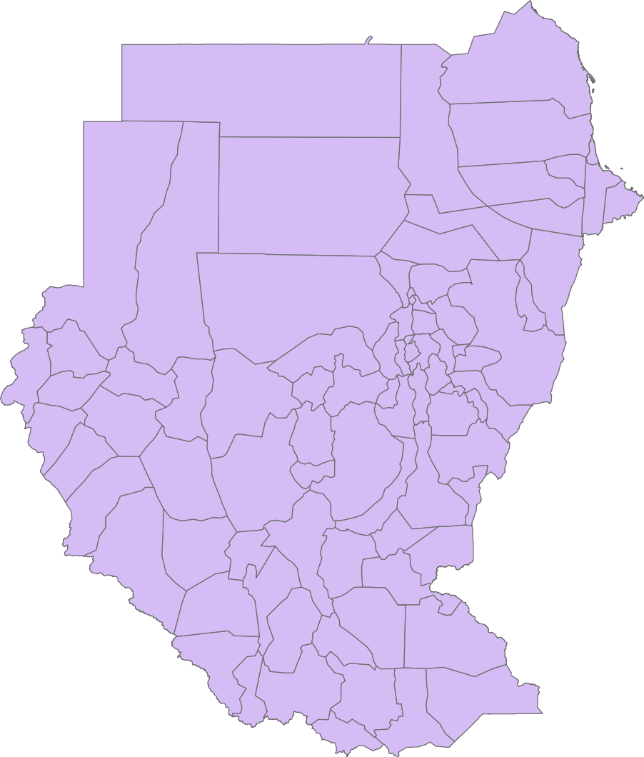 Sudan Admin large map