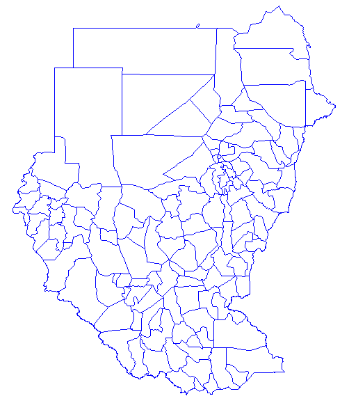 Sudan Districts1 large map
