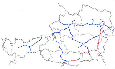Suedautobahn large map